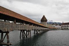 Kapellbrcke (Ne_Obliviscaris) Tags: bridge river switzerland luzern chapel lucerne kapellbrcke reuss