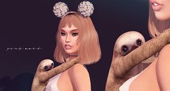 Baby Sloths @ The Epiphany <3 ( Stasey Oller ) Tags: pink baby daisies acid sloth headband daisys sloths