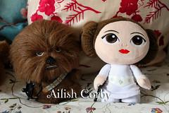 Chewie & Leia (AilishCorby) Tags: las de star princess guerra wars princesa chewbacca leia funko galaxias organa fabrikations