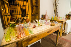 Glass shop in Oaxcaca
