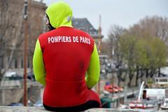 (ntonio71) Tags: travel red paris pompiere