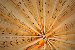 Pleated Paper (Caroline.32) Tags: music macro paper sheetmusic pleated extensiontube20mm macromondays nikond7100 startswithap 18140mmlens