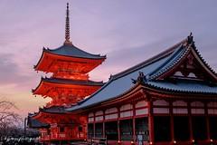 Kiyomizu-Dera at dusk (siswanto_p) Tags: sunset ngc kiyomizudera