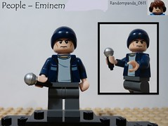 Eminem (RandomPanda_0611) Tags: slim lego fig character figure characters minifig rap minifigs rapper figures shady figs eminem minifigure minifigures