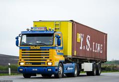 Scania 143M 500 V8 Streamline (CH) (almostkenny) Tags: truck schweiz switzerland suisse container camion v8 ch scania lkw ciarwka hp500 143m ag386911