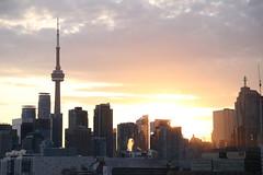 Toronto Skyline (Hilary-Osto) Tags: toronto canada architecture downtown views april harbourfront 2016