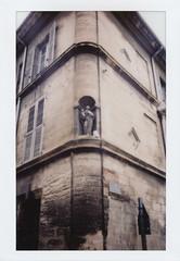Avignon Corner (jakem) Tags: france avignon polaroidweek fujifilminstax100 roidweek instaxwide