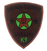 Brown County Sheriff K9 Patch (Patch Collector) Tags: county brown team police special sheriff patch emergency critical tactics swat weapons cru k9 appleton response unit ert subdued outagamie