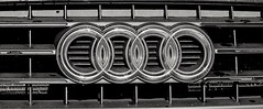 Kodak plus x rodinal 1:50 (paulfeeney76) Tags: mamiya car mediumformat emblem kodak 120film rodinal audi plusx m645