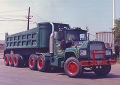 "Mack V8 ""Sadowski"" (PAcarhauler) Tags: tractor truck dump semi trailer mack"