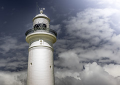 Into the clouds (Martin Snicer Photography) Tags: travel sky lighthouse clouds 50mm sydney australia 6d