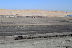 I_B_IMG_6314 (florian_grupp) Tags: china railroad train landscape asia mine desert muslim railway steam xinjiang mikado locomotive coal js steamlocomotive 282 opencastmine sandaoling