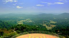 View from Madikeri fort (Deepak Anilkumar) Tags: india scenery fort seat karnataka mysore rajas madikeri