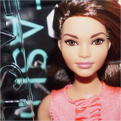 Curvy Fashionista Girl (farmspeedracer) Tags: woman girl beauty toy doll box barbie curvy mattel fashionistas 2016 nrfb playline