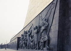 Conquerors of Space 2 - Moscow, Russia (phlorgan) Tags: travel lenin sculpture monument museum memorial russia outdoor moscow space soviet obelisk russian cosmonaut 1964 cccp conquerors cosmonautics