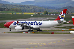 Edelweiss Air Airbus A330-343 HB-JHR (Kambui) Tags: airplane airplanes airbus zrich a330 aviones avions kloten zrh flugzeuge  avies 330300 aeroplani edelweissair kambui  hbjhr