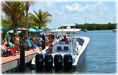 The Getaway Tiki Bar - St Petersburg, Florida (lagergrenjan) Tags: st bar boat florida getaway petersburg tiki blvd gandy