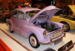 1961 Morris Minor Million (264 KJO) 950cc -Classic Motor Show 2015 - Birmingham NEC (anorakin) Tags: birmingham million morrisminor 1961 nec 2015 classicmotorshow 950cc 264kjo