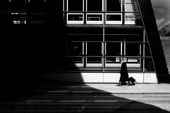Street & Shadows (Bo Hvidt) Tags: blackandwhite bw monochrome blackwhite nik silverefex bohvidt nikcollection x100t fujifilmx100t
