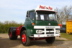 Lorry. Bedford KM  NKT355R (dickodt65) Tags: truck bedford lorry truckfest