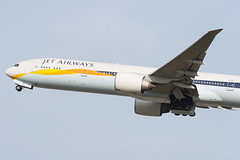 VT-JEM Jet Airways Boeing 777-35R(ER) (v1images) Tags: uk england jason london plane photography airport er heathrow aircraft aviation united flight jet kingdom off worldwide take boeing 300 airways 777 lhr nicholls egll 777300er 300er 77735rer vtjem v1images