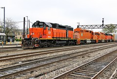 Too Hot to Handle (BravoDelta1999) Tags: railroad yard cn train ic illinois railway homewood markham 660 canadiannational ble eje manifest 878 emd illinoiscentral 661 866 sd382 elginjolietandeastern bessemerandlakeerie sd38ac chicagosubdivision l515