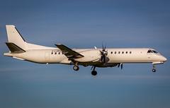 G-LGNS (CJK PHOTOS) Tags: code 2000 aircraft airline type information saab registration sn modes loganair sb20 2000041 glgns 406e1c