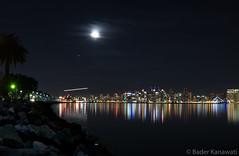Harbor Island - San Diego (baderk95) Tags: longexposure reflections nightlights waterfront sandiego harborisland