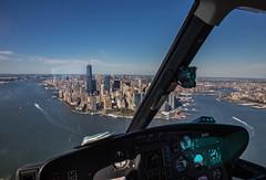 New York (erikcarpes) Tags: sky usa ny newyork landscape manhattan helicopter hudsonriver heli estadosunidos novaiorque freedomtower