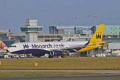 "G-ZBAE Airbus A.321-231SL Monarch Airlines MAN 20-12-15 (PlanecrazyUK) Tags: man manchester ringway egcc monarchairlines airport"" ""manchester 201215 gzbae airbusa321231sl"