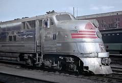 Silver Metor, A CB&Q E5A, 9912A (railfan 44) Tags: chicago burlington quincy