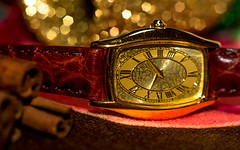 Seiko Ornament (elluckyphoto) Tags: christmas holiday beauty fashion golden watches time gorgeous sony watch decoration ornament timepiece sample seiko luxury elegance slta37