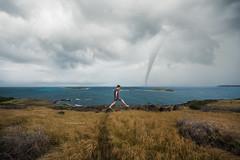 Life Is Strange (25yo | French | Photo-Retoucher) Tags: trip blue sea sky storm water clouds photoshop landscape nikon martinique manipulation tornado holydays d810 kirawashere