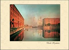 EARLY MORNING  1982 (Derek Hyamson) Tags: liverpool 1982 waterfront albertdock zeissiconnettar 120rollfilm