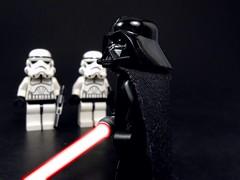 Lord Vader's Empire (MrKjito) Tags: red dark star force power lego side darth empire stormtrooper anakin lightsaber wars vader minifig sith trilogy skywalker