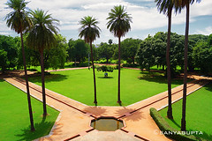 Garden View From Top..... (WandererSana) Tags: new travel trees sky india tree green nature garden landscape photography niceshot view delhi sony explore greenery dslr photooftheday picoftheday naturelover morningview capturing travelphotography sonyalpha sonydslr lovetotakepictures