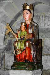 DSC0230 Santa Mara de Eunate, siglo XII, Navarra (ramonmunoz_arte) Tags: santa de arte xii mara navarra templarios siglo romnico eunate