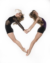 Claire and Leah (Photography of Dance) Tags: ballet jump nikon ballerina frozenintime dancephotography dancevalentine