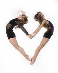 Claire and Leah (Photography of Dance) Tags: ballet jump nikon ballerina frozenintime dancephotography dancevalentine