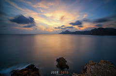 Sunset (Legi.) Tags: longexposure sunset seascape landscape atardecer nikon tokina cartagena 116 largaexposición d600 1116 portmán