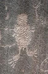 Petroglyph / Pleasant Creek Canyon (Ron Wolf) Tags: feet archaeology utah nationalpark fremont nativeamerican petroglyph anthropology rockart capitolreefnationalpark anthropomorph pleasantcreek anthromorph