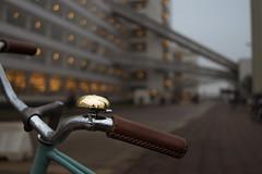 another teal bike (bjdewagenaar) Tags: street city urban holland colors dutch bike bicycle architecture rotterdam raw dof minolta teal sony 28mm faded van fabriek nelle lightroom