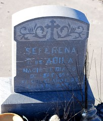 Seferena T. Avila (moos) Tags: cemetery grave graveyard memorial headstone headstones graves gravestone gravestones gravemarker abila sierracountynewmexico cuchillocemetery