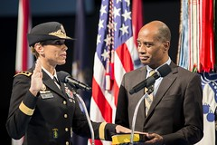 Lt. Gen. West promoted, sworn in (Joint Base Myer-Henderson Hall) Tags: old black history promotion female soldier army hall us fort mark military chief guard ceremony first womens medical staff pentagram africanamerican ready medicine month base command joint own resilient myer the ltg 3star a conmy milley pershings breaktheglassceiling threestargeneral jointbasemyerhendersonhall jbmhh nellking nadjawest nadjaywest generalmarkmilley 44tharmysurgeongeneral