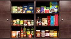 Wooden kitchen cabinet full of food products (il TOP) Tags: food home kitchen promotion closeup design wooden 3d commerce graphic market cabinet furniture sale background object goods full advertisement shelf collection container business greece packaging products various trade package groceries shelves abundance template consumption realistic advertise foodkitchencabinetfurniturefullabundancepackagingcollectioncommercegraphicrealisticdesigntradeproductstemplateobjectpromotionconsumption3dhomecloseupvariousadvertisementpackagebackgroundcontaineradvertisebusinesssalemarketgoo