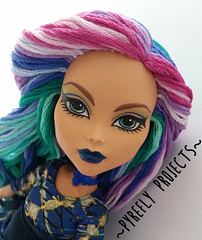 The Peacock (Pyrefly Projects) Tags: monster high doll projects custom cleo reroot pyrefly kizrianah
