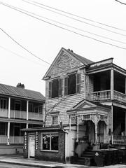 Downtown Charleston-110 (King_of_Games) Tags: blackandwhite sc downtown southcarolina charleston barbershop chs springstreet familybarbershop