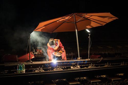 03.09.2015, repaire railroad switch, Zábřeh na Moravě