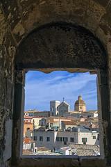 Finestra su Cagliari (RoLiXiA) Tags: sardegna windows panorama landscape sardinia cagliari citt medioevo sardaigne cerdea finestre torredellelefante capula nikond7200
