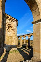 DSC0224 Santa Mara de Eunate, siglo XII, Navarra (ramonmunoz_arte) Tags: santa de arte xii mara navarra templarios siglo romnico eunate